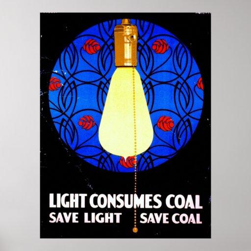 Vintage Conservation Poster 1917