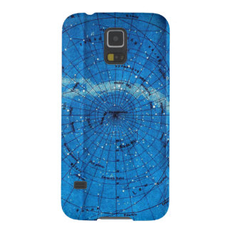 Vintage Constellation Map Cases For Galaxy S5
