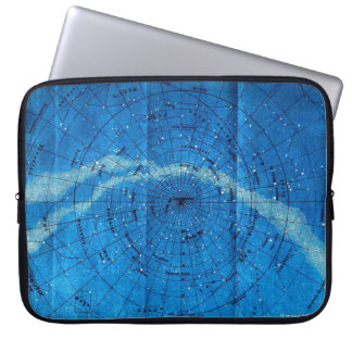 Vintage Constellation Map Laptop Sleeve