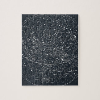 Vintage Constellation Map Puzzle