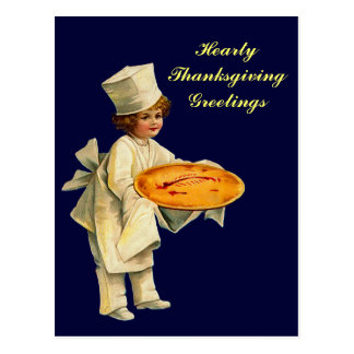 Vintage Cook Postcard