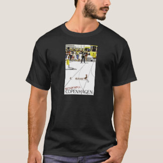 Vintage Copenhagen Denmark Ducks Crossing Road T-Shirt