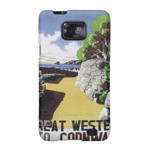 Vintage Cornwall Western Samsung Galaxy S2 Cases