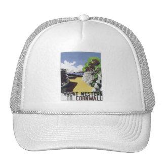 Vintage Cornwall Western Mesh Hats