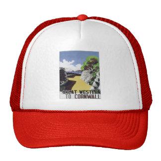 Vintage Cornwall Western Hat