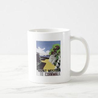 Vintage Cornwall Western Mug