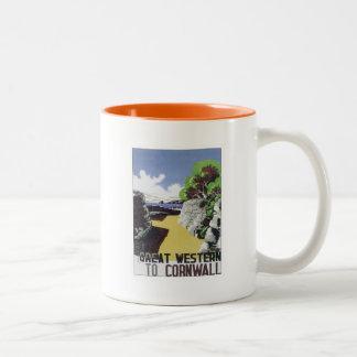 Vintage Cornwall Western Mugs