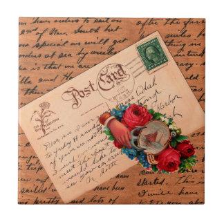 Vintage Correspondence Tile
