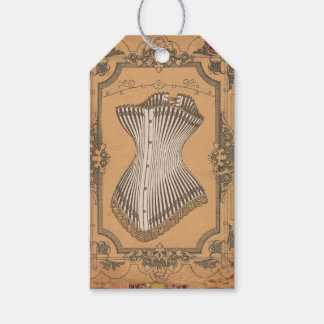 Vintage Corset Gift Tags