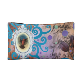 Vintage Cosmic Beauty Cosmetic Bag