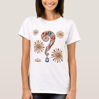 Vintage Costume Jewelry Rhinestones Diamonds T-Shirt
