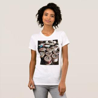 Vintage cotton wooden cotton reels T-Shirt