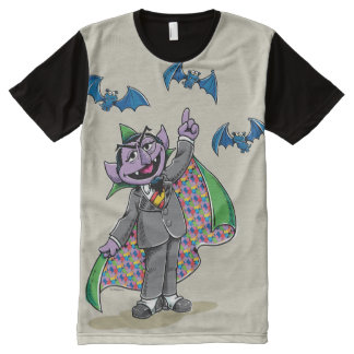 Vintage Count von Count All-Over-Print T-Shirt