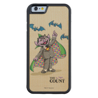 Vintage Count von Count Carved Maple iPhone 6 Bumper Case