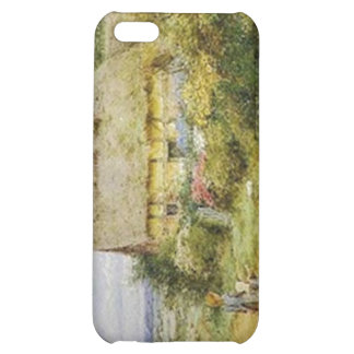 Vintage Country Cottage and Children iPhone 5C Case