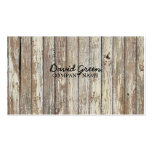 vintage country wood grain construction business business card templates