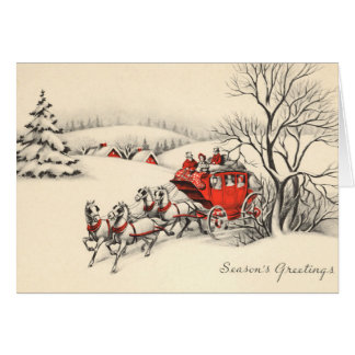 Vintage Countryside Card