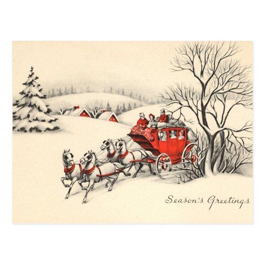 Vintage Countryside Postcard