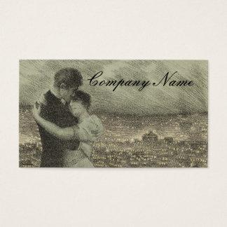 Vintage Couple Business Cards