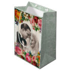 Vintage Couple in Love Wedding Roses Gift Bag