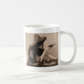 Vintage Cow Girl Coffee Mug