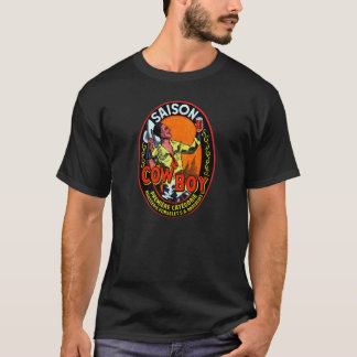 Vintage Cowboy Ale T-Shirt