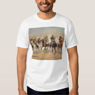 Vintage Cowboys, A Dash For Timber by Remington Shirt
