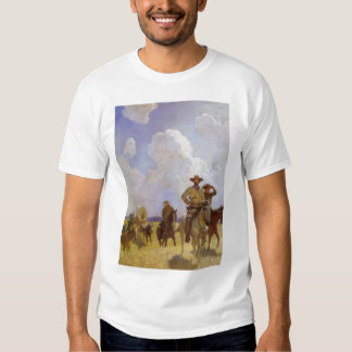 Vintage Cowboys, The Parkman Outfit by NC Wyeth Tees