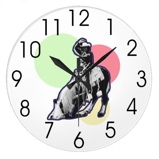 Vintage Cowgirl Wall Clocks