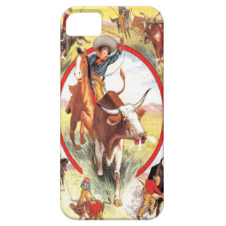 Vintage Cowgirl Western IPhone 5 Case