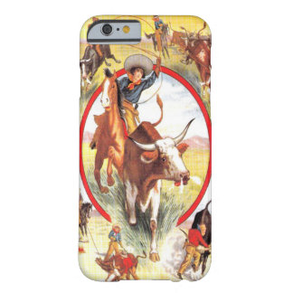 """Vintage Cowgirl"" Western iPhone 6 case"