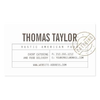 Vintage Craft Rustic Modern III Business Card