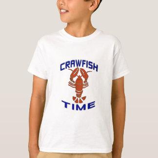 Vintage Crawfish Time Clock T-Shirt