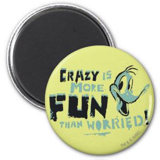Vintage Crazy DAFFY DUCK™ Magnet