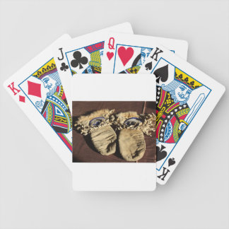 Vintage Cree Mittens Bicycle Playing Cards