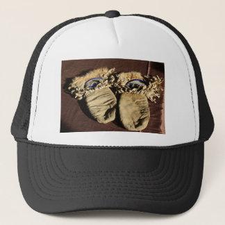 Vintage Cree Mittens Trucker Hat