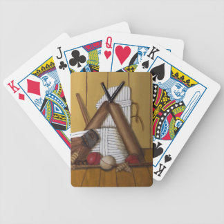 Vintage Cricket Bicycle Playing Cards