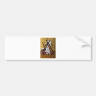 Vintage Cricket Bumper Sticker