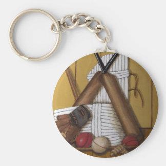 Vintage Cricket Keychain