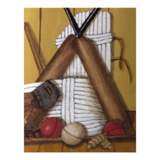 Vintage Cricket Letterhead