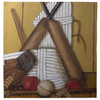 Vintage Cricket Napkin
