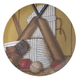 Vintage Cricket Plate