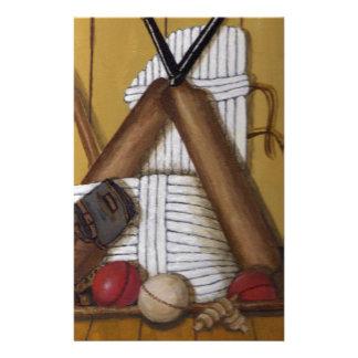 Vintage Cricket Stationery