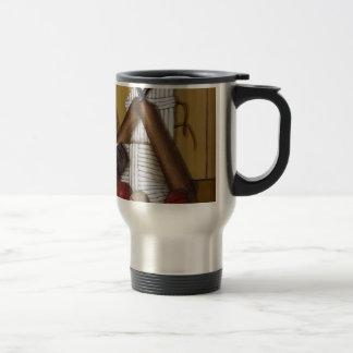Vintage Cricket Travel Mug
