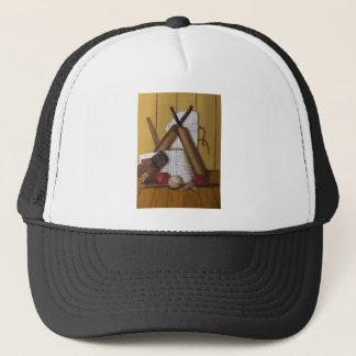 Vintage Cricket Trucker Hat