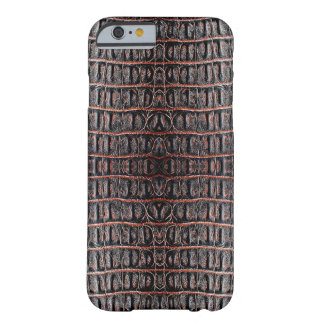 Vintage crocodile skin barely there iPhone 6 case