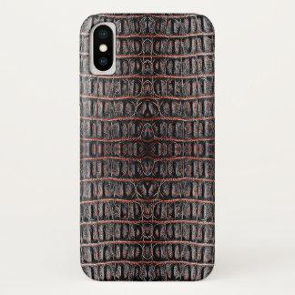 Vintage crocodile skin Case-Mate iPhone case
