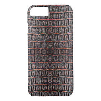 Vintage crocodile skin iPhone 7 case