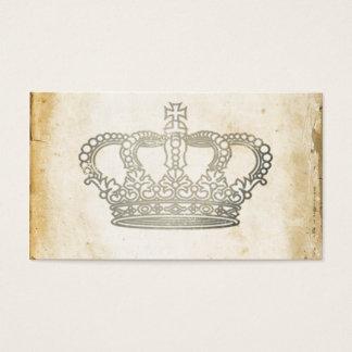 Vintage Crown Business Card