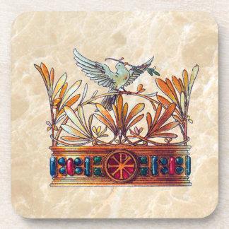 Vintage Crown Image Coaster